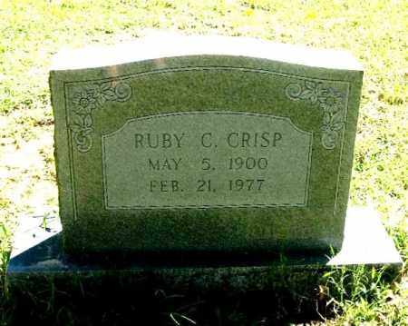 CRISP, RUBY C. - Monroe County, Arkansas | RUBY C. CRISP - Arkansas Gravestone Photos