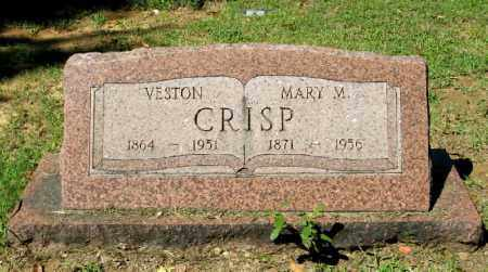CRISP, VESTON SR - Monroe County, Arkansas | VESTON SR CRISP - Arkansas Gravestone Photos