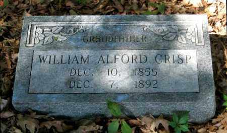 CRISP, WILLIAM ALFORD - Monroe County, Arkansas | WILLIAM ALFORD CRISP - Arkansas Gravestone Photos