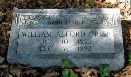 CRISP, WILLIAM ALFORD - Monroe County, Arkansas | WILLIAM ALFORD CRISP - Arkansas Gravestone Photos