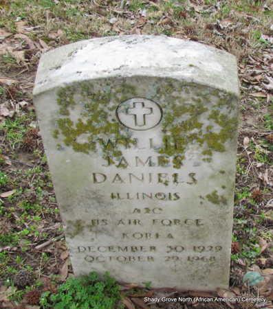 DANIELS (VETERAN KOR), WILLIE JAMES - Monroe County, Arkansas | WILLIE JAMES DANIELS (VETERAN KOR) - Arkansas Gravestone Photos