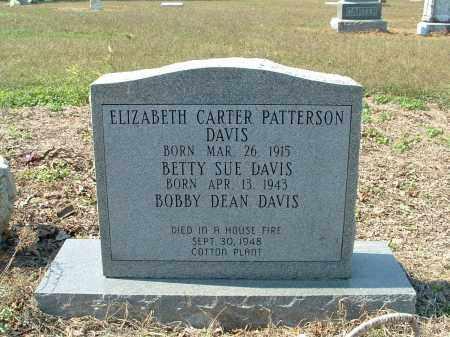DAVIS, ELIZABETH - Monroe County, Arkansas | ELIZABETH DAVIS - Arkansas Gravestone Photos