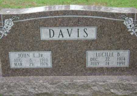 DAVIS, JOHN T. JR. - Monroe County, Arkansas | JOHN T. JR. DAVIS - Arkansas Gravestone Photos