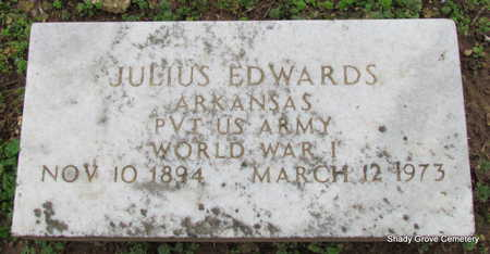 EDWARDS (VETERAN WWI), JULIUS - Monroe County, Arkansas | JULIUS EDWARDS (VETERAN WWI) - Arkansas Gravestone Photos