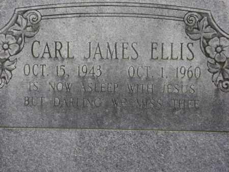 ELLIS, CARL JAMES - Monroe County, Arkansas | CARL JAMES ELLIS - Arkansas Gravestone Photos