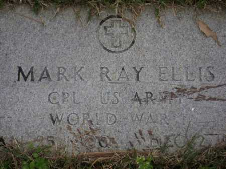 ELLIS (VETERAN WWI), MARK RAY - Monroe County, Arkansas | MARK RAY ELLIS (VETERAN WWI) - Arkansas Gravestone Photos
