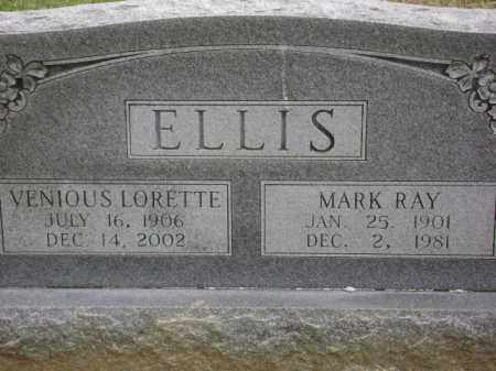 ELLIS, VENIOUS LORETTE - Monroe County, Arkansas | VENIOUS LORETTE ELLIS - Arkansas Gravestone Photos