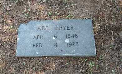 FRYER, ABRAHAM - Monroe County, Arkansas | ABRAHAM FRYER - Arkansas Gravestone Photos