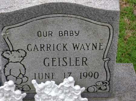 GEISLER, GARRICK WAYNE - Monroe County, Arkansas | GARRICK WAYNE GEISLER - Arkansas Gravestone Photos