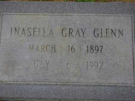 GRAY GLENN, INASELLA - Monroe County, Arkansas | INASELLA GRAY GLENN - Arkansas Gravestone Photos
