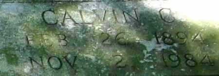 GOINGS, CALVIN C. - Monroe County, Arkansas | CALVIN C. GOINGS - Arkansas Gravestone Photos