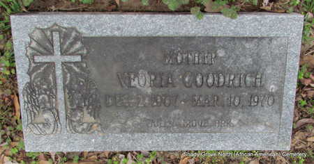 GOODRICH, VEORIA - Monroe County, Arkansas | VEORIA GOODRICH - Arkansas Gravestone Photos