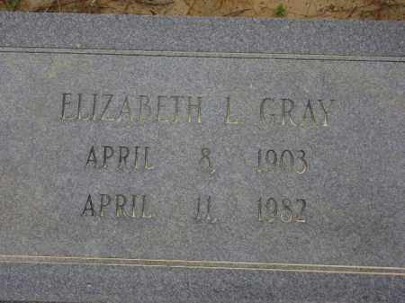 GRAY, ELIZABETH L. - Monroe County, Arkansas | ELIZABETH L. GRAY - Arkansas Gravestone Photos