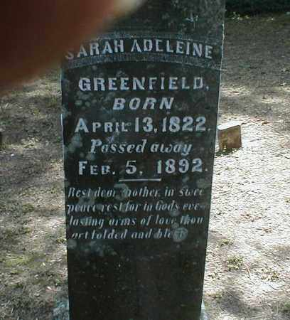 GREENFIELD, SARAH - Monroe County, Arkansas | SARAH GREENFIELD - Arkansas Gravestone Photos