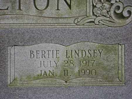 HACKELTON, BERTIE LINDSEY - Monroe County, Arkansas | BERTIE LINDSEY HACKELTON - Arkansas Gravestone Photos