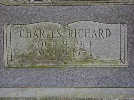 HACKELTON, CHARLES RICHARD - Monroe County, Arkansas | CHARLES RICHARD HACKELTON - Arkansas Gravestone Photos
