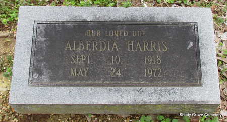 HARRIS, ALBERDIA - Monroe County, Arkansas | ALBERDIA HARRIS - Arkansas Gravestone Photos