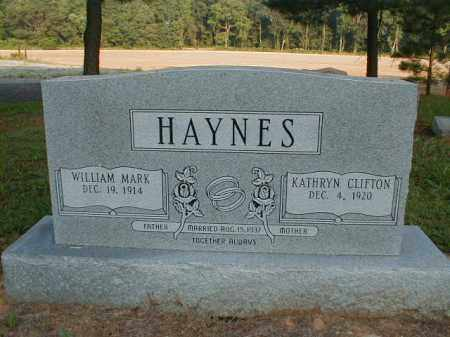 HAYNES, WILLAM MARK - Monroe County, Arkansas | WILLAM MARK HAYNES - Arkansas Gravestone Photos