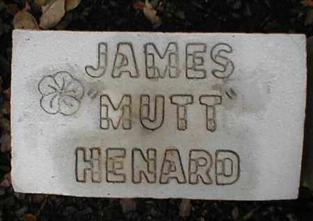 HENARD, JAMES MUTT - Monroe County, Arkansas | JAMES MUTT HENARD - Arkansas Gravestone Photos