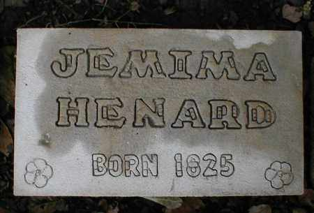 LONG HENARD, JEMIMA - Monroe County, Arkansas | JEMIMA LONG HENARD - Arkansas Gravestone Photos