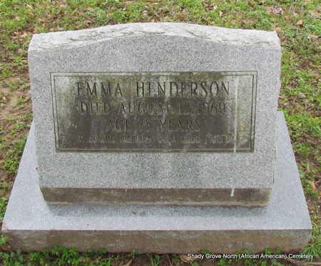 HENDERSON, EMMA - Monroe County, Arkansas | EMMA HENDERSON - Arkansas Gravestone Photos