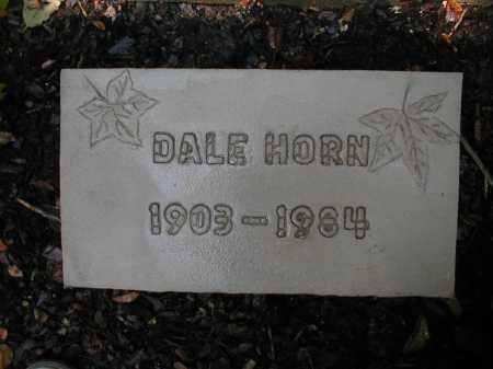 HORN, DALE - Monroe County, Arkansas | DALE HORN - Arkansas Gravestone Photos