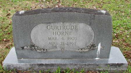 HORNE, GURTRUDE - Monroe County, Arkansas | GURTRUDE HORNE - Arkansas Gravestone Photos