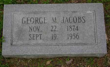 JACOBS, GEORGE M. - Monroe County, Arkansas | GEORGE M. JACOBS - Arkansas Gravestone Photos