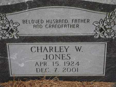 JONES, CHARLEY W. - Monroe County, Arkansas | CHARLEY W. JONES - Arkansas Gravestone Photos