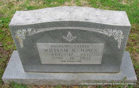 JONES, WILLIAM R. - Monroe County, Arkansas   WILLIAM R. JONES - Arkansas Gravestone Photos