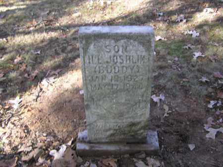 JOSHLIN, H.L. (BUDDY) - Monroe County, Arkansas | H.L. (BUDDY) JOSHLIN - Arkansas Gravestone Photos