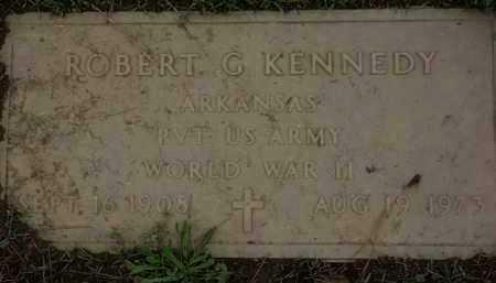 KENNEDY (VETERAN WWII), ROBERT G. - Monroe County, Arkansas | ROBERT G. KENNEDY (VETERAN WWII) - Arkansas Gravestone Photos