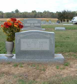 MILLS MARTIN, WILLIE - Monroe County, Arkansas | WILLIE MILLS MARTIN - Arkansas Gravestone Photos