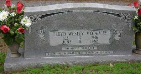 MCCAULEY, FLOYD WESLEY - Monroe County, Arkansas | FLOYD WESLEY MCCAULEY - Arkansas Gravestone Photos