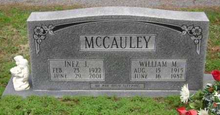 MCCAULEY, WILLIAM M - Monroe County, Arkansas | WILLIAM M MCCAULEY - Arkansas Gravestone Photos