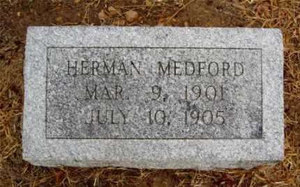 MEDFORD, HERMAN - Monroe County, Arkansas | HERMAN MEDFORD - Arkansas Gravestone Photos