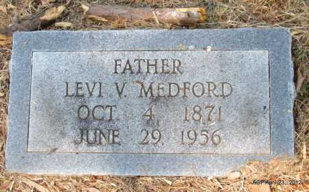 MEDFORD, LEVI V - Monroe County, Arkansas | LEVI V MEDFORD - Arkansas Gravestone Photos