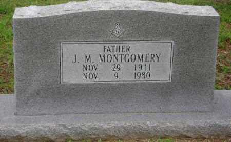 MONTGOMERY, J. M. - Monroe County, Arkansas | J. M. MONTGOMERY - Arkansas Gravestone Photos