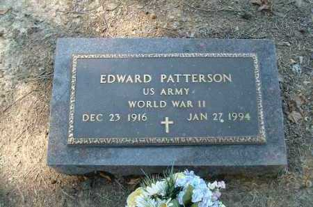 PATTERSON  (VETERAN WWII), EDWARD - Monroe County, Arkansas | EDWARD PATTERSON  (VETERAN WWII) - Arkansas Gravestone Photos