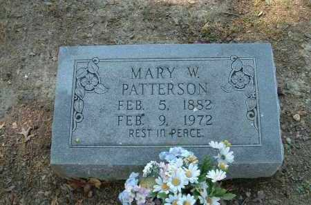 WILSON PATTERSON, MARY - Monroe County, Arkansas | MARY WILSON PATTERSON - Arkansas Gravestone Photos