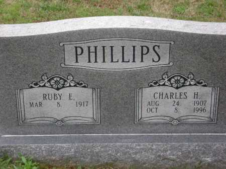 PHILLIPS, CHARLES H. - Monroe County, Arkansas | CHARLES H. PHILLIPS - Arkansas Gravestone Photos