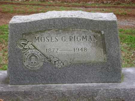 PIGMAN, MOSES G. - Monroe County, Arkansas | MOSES G. PIGMAN - Arkansas Gravestone Photos