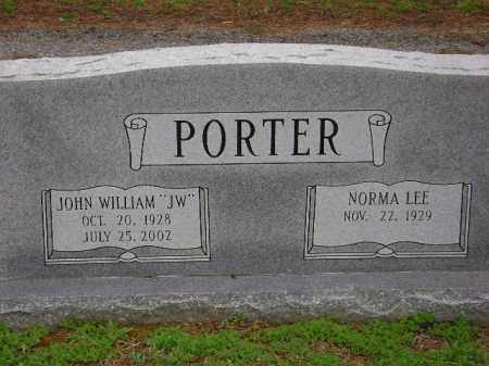 "PORTER, JOHN WILLIAM ""JW"" - Monroe County, Arkansas 