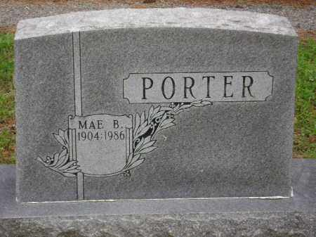 PORTER, MAE B. - Monroe County, Arkansas | MAE B. PORTER - Arkansas Gravestone Photos