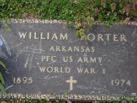 PORTER (VETERAN WWI), WILLIAM - Monroe County, Arkansas | WILLIAM PORTER (VETERAN WWI) - Arkansas Gravestone Photos