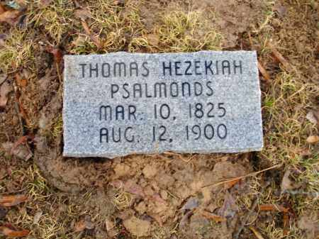 PSALMONDS, THOMAS HEZEKIAH - Monroe County, Arkansas | THOMAS HEZEKIAH PSALMONDS - Arkansas Gravestone Photos