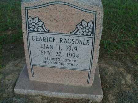 CLIFTON RAGSDALE, CLARICE - Monroe County, Arkansas | CLARICE CLIFTON RAGSDALE - Arkansas Gravestone Photos