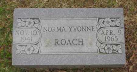 ROACH, NORMA YVONNE - Monroe County, Arkansas | NORMA YVONNE ROACH - Arkansas Gravestone Photos
