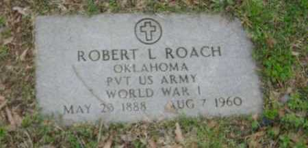 ROACH (VETERAN WWI), ROBERT L. - Monroe County, Arkansas | ROBERT L. ROACH (VETERAN WWI) - Arkansas Gravestone Photos