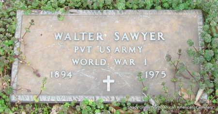 SAWYER (VETERAN WWI), WALTER - Monroe County, Arkansas | WALTER SAWYER (VETERAN WWI) - Arkansas Gravestone Photos